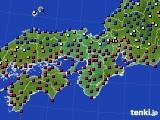 2015年03月13日の近畿地方のアメダス(日照時間)