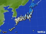 2015年03月14日のアメダス(気温)