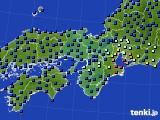 2015年03月18日の近畿地方のアメダス(日照時間)