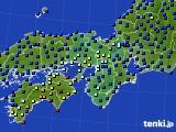 2015年03月20日の近畿地方のアメダス(日照時間)