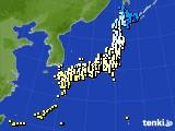 2015年03月22日のアメダス(気温)