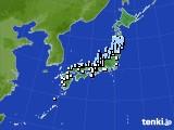 2015年04月01日のアメダス(降水量)