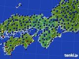 2015年04月01日の近畿地方のアメダス(日照時間)