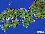 2015年04月02日の近畿地方のアメダス(日照時間)