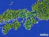 2015年04月04日の近畿地方のアメダス(日照時間)