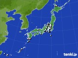 2015年04月07日のアメダス(降水量)