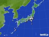 2015年04月08日のアメダス(降水量)