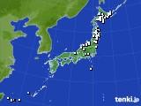 アメダス実況(降水量)(2015年04月11日)