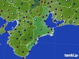 三重県のアメダス実況(日照時間)(2015年04月11日)