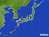2015年04月19日のアメダス(降水量)