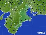 三重県のアメダス実況(降水量)(2015年04月20日)