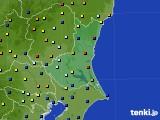 2015年04月22日の茨城県のアメダス(日照時間)