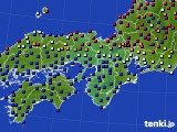 2015年04月28日の近畿地方のアメダス(日照時間)