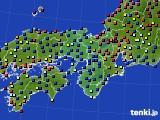 2015年04月29日の近畿地方のアメダス(日照時間)