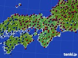 2015年04月30日の近畿地方のアメダス(日照時間)