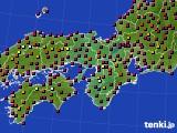 2015年05月01日の近畿地方のアメダス(日照時間)