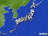 2015年05月01日のアメダス(風向・風速)