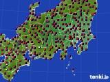関東・甲信地方のアメダス実況(日照時間)(2015年05月02日)