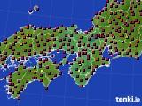 2015年05月02日の近畿地方のアメダス(日照時間)