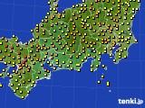 東海地方のアメダス実況(気温)(2015年05月02日)