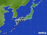 2015年05月03日のアメダス(降水量)