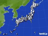 2015年05月03日のアメダス(風向・風速)