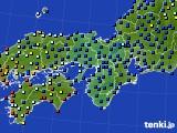 2015年05月04日の近畿地方のアメダス(日照時間)
