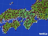 2015年05月05日の近畿地方のアメダス(日照時間)