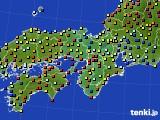 2015年05月06日の近畿地方のアメダス(日照時間)
