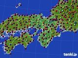 2015年05月08日の近畿地方のアメダス(日照時間)