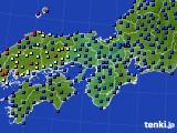 2015年05月09日の近畿地方のアメダス(日照時間)