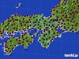 2015年05月10日の近畿地方のアメダス(日照時間)