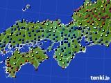 2015年05月14日の近畿地方のアメダス(日照時間)