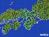 2015年05月16日の近畿地方のアメダス(日照時間)