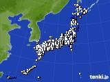 2015年05月17日のアメダス(風向・風速)