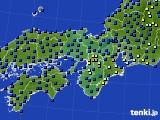 2015年05月18日の近畿地方のアメダス(日照時間)