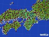 2015年05月19日の近畿地方のアメダス(日照時間)