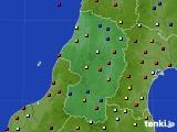 2015年05月21日の山形県のアメダス(日照時間)