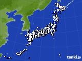 2015年05月21日のアメダス(風向・風速)