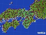 2015年05月26日の近畿地方のアメダス(日照時間)