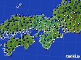 2015年05月28日の近畿地方のアメダス(日照時間)