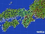 2015年05月30日の近畿地方のアメダス(日照時間)
