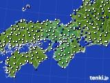 近畿地方のアメダス実況(風向・風速)(2015年05月31日)