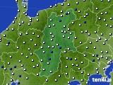 2015年06月01日の長野県のアメダス(風向・風速)