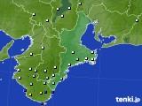 2015年06月03日の三重県のアメダス(降水量)