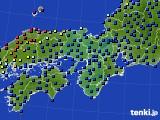 2015年06月03日の近畿地方のアメダス(日照時間)