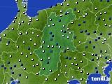 2015年06月04日の長野県のアメダス(風向・風速)