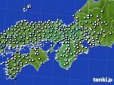 近畿地方のアメダス実況(降水量)(2015年06月05日)
