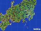 関東・甲信地方のアメダス実況(日照時間)(2015年06月06日)
