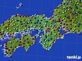 2015年06月06日の近畿地方のアメダス(日照時間)